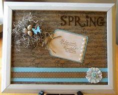 Spring wall decor