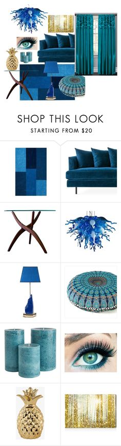"""Modern"" by airsunshine on Polyvore featuring interior, interiors, interior design, home, home decor, interior decorating, Home Decorators Collection, Gus* Modern, Viz Glass and Oliver Gal Artist Co."