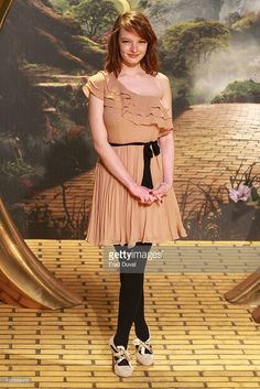 Dakota Blue Richards attends the European Film Premiere of 'Oz: The Great And Powerful' at The Empire Cinema on February 28, 2013 in London, England.