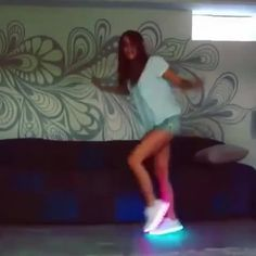 """Watch EDMBD™'s Vine, """"Amymarie Gaertner with the smooth moves in her Electric Styles kicks"""""""