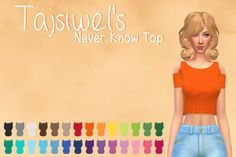 Lana CC Finds - purrsephonesimsofwonders: Tajsiwel's Never Know...