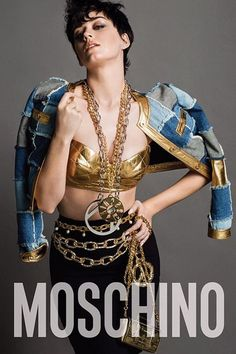 cool Katy Perry is the face of Moschino's Fall-Winter 2015 campaign shot by Inez & Vinoodh  [Preview]]