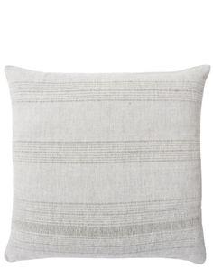 """Tonal Texture Pillow, 20"""""""