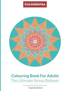 Colouring Book for Adults: The Ultimate Stress Reliever Coloring Books, Colouring, How To Relieve Stress, Original Art, Stress Reliever, Sofa, Lifestyle, Amazon