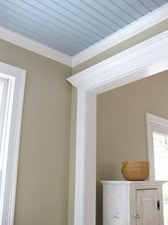 Manchester Tan- benjamin moore - beautiful with white, blues and greens...Ginger's house!