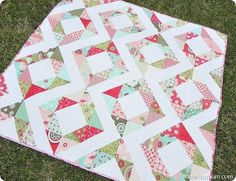 Free Charm Pack Quilt Patterns (U Create)