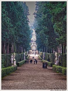 A Leisurely Stroll through Boboli Gardens in Florence