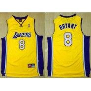 95addf91b NBA Los Angeles Lakers Jersey   Kobe Bryant  8 Throwback Stitched Men s  Gold Nike Jersey