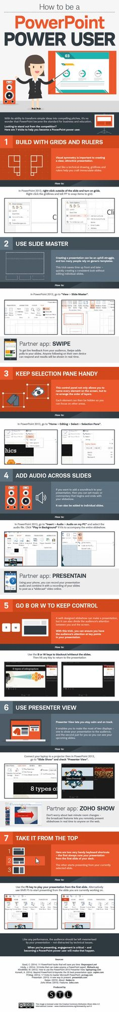 7 Cool Ways to Improve Any PowerPoint Presentation Want to be a PowerPoint power user? Read on.