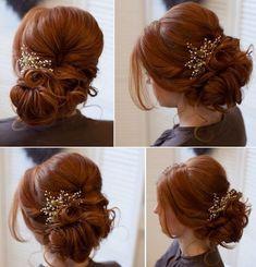 Wedding Hairstyles : Tonya Pushkareva Long Wedding Hairstyle for Bridal via tonyastylist / www.himiss