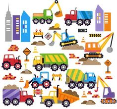City Construction Decorative Peel & Stick Wall Art Sticker Decals CherryCreek Decals http://www.amazon.com/dp/B00I38XG16/ref=cm_sw_r_pi_dp_JPYHub0HZHZG7