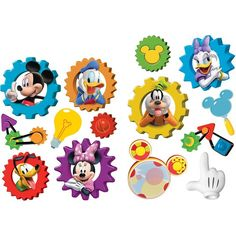Mickey Mouse Clubhouse 2-Sided Classroom Decor   Eureka School: