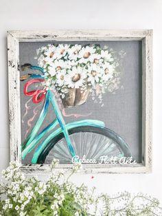 Rebecaflottarts makes a perfect handmade gift Bel Art, Outdoor Art, Custom Art, Painting Inspiration, Art Projects, Art Drawings, Canvas Art, Hand Painted, Artwork