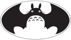 Bat-Totoro