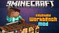 "MineBattles  Extended Workbench1.7.101.7.21.6.41.6.21.5.2Мод ""Extended Workbench"" расширяет возможности верстака в Майнкрафт."