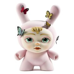 """The Dreamer 8"""" Pink Dunny by Mab Graves"""