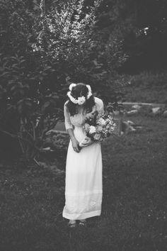 The Green Dandelion Floral Design: wedding whites