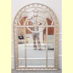 Albert Gate Mirror - Raisa House Indonesia #Mirror #Mahoganyfurniture #Livingfurniture #Bedsidefurniture #Classicfurniture #Woodenfurniture #Bedsetfurniture #Albertgatemirror Mahogany Furniture, Living Furniture, Furniture Offers, French Mirror, Hotel Project, Furniture Factory, Mirror, Bedside Furniture, Bed Furniture Set