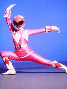Pink Ranger; when I was in kindergarten I used to pretend to be pink ranger every day