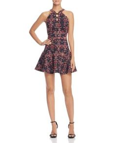 VINCE CAMUTO Fresco Blooms Floral Dress | Bloomingdales's