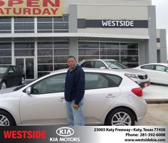 #HappyAnniversary to Vernal Shaw on your 2012 #Kia #Forte from Everyone at Westside Kia!