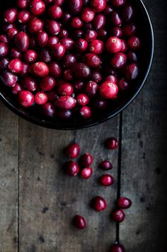 Cranberry Relish with Honey, Ginger, and Star Anise