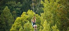 Fly the Goliath at Foxfire Mountain Adventure Park!