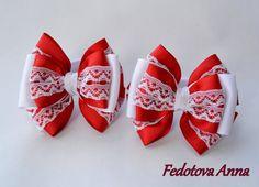 Резинки для волос Бантики от FloralByAnna на Etsy