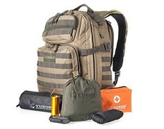 74e6a1d5b52cf Yukon Outfitters Survival Kit w bottle Alpha Backpack Coyote Foliage