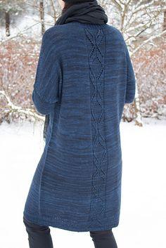 Warszawa Soft by Meiju K-P, knitted  by Lankakerasta | malabrigo Arroyo in Prussia Blue