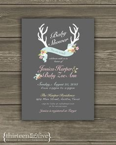 Adore this invitation!