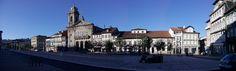 Guimaraes. Centro histórico. Largo do Toural