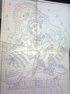 Kerala Mural Painting Design — Craftziners