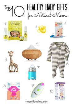 Have you tried shopping for truly healthy baby gifts lately? It's insane! Too many products, not enough honest ingredient labels… baby products Top 10 Healthy Baby Gifts for Natural Moms Baby Shower Gifts, Baby Gifts, Honest Diapers, Natural Parenting, After Baby, Baby Health, Pregnant Mom, Baby Hacks, Baby Registry