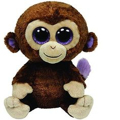 ICYMI: Ty Beanie Boos Coconut Monkey Beanbag Stuffed Animals Baby Boy Girl Plush Toys