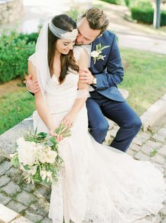 So sweet: http://www.stylemepretty.com/little-black-book-blog/2016/06/06/rustic-romantic-stylish-portuguese-wedding/ | Photography: Love Is My Favorite Color - http://www.loveismyfavoritecolor.com/