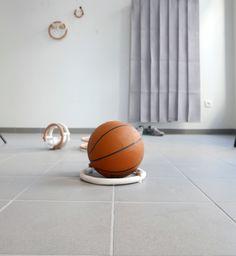 Terre cuite / Impression 3D / Ballon de basket / Cédric Canaud 2019