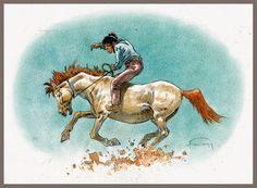 Zona BéDé: Comanche, le prime storie