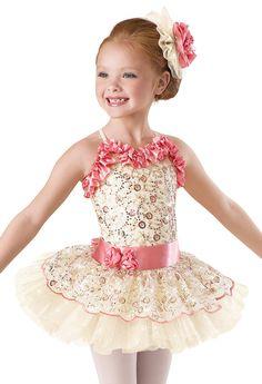 Ella's recital costume 2014 - Embroidered Floral Tutu Dress -Weissman Costumes