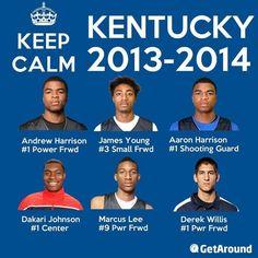 Kentucky Wildcats 2013-2014 #kendrascott #teamKS