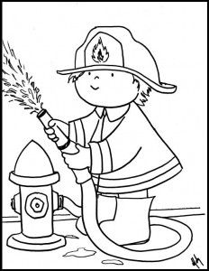 Printable Firefighter Coloring Pages Firefighter School, Firefighter Baby, Firefighter Birthday, Firefighter Wedding, Coloring Sheets For Kids, Colouring Pages, Art Drawings For Kids, Drawing For Kids, Fireman Party