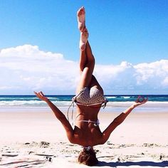 The #ultimate #master of #yoga : #beach #bikini #fitness  - more at: http://bit.ly/2bGMU6j