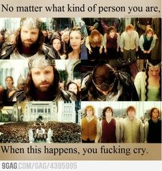 Seriously, if after 12 hours worth if LotR this doesn't get to you, you have no soul