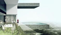 Luxury high rise in Lima has condos with private pools and terrace gardens - Designbuzz Dezeen Architecture, Architecture Design, Mumbai, Sky Pool, Shadow Of The Colossus, Terrace Garden, Private Pool, Exterior, Luxury