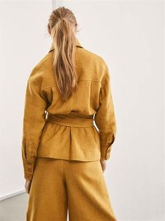 Mango Mojito '' Pantone Spring/ Summer 2019 Color '' by Reyhan S.D. - Bing images Yellow Pantone, Pantone Color, Mango Mojito, Blazer, Color Trends, Editorial Fashion, Fashion Design, Clothes, Outfits