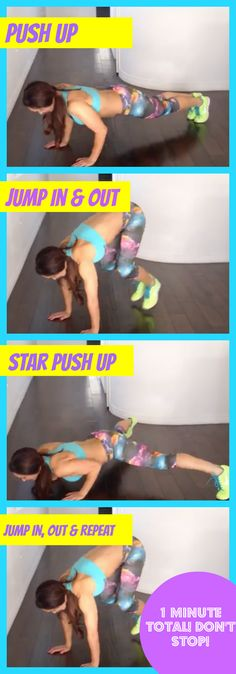DO THIS WITH ME! Changing your body is about PROGRESSION... you can do this. Don't give up! Click the image above for more fun workouts like these !