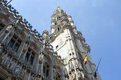 Hôtel de ville de Bruxelles. #bruxelles Barcelona Cathedral, Europe, Building, Travel, Belgium, Viajes, Buildings, Destinations, Traveling