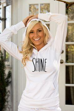 Shine Hoodie! So cute.