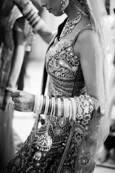 Black and White Shot #indianbride