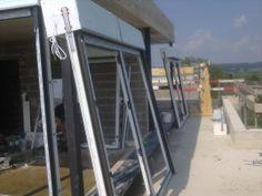 Montaż okien wraz z roletami nadstawnymi (otwór na okno 30cm wyższy dla rolety)